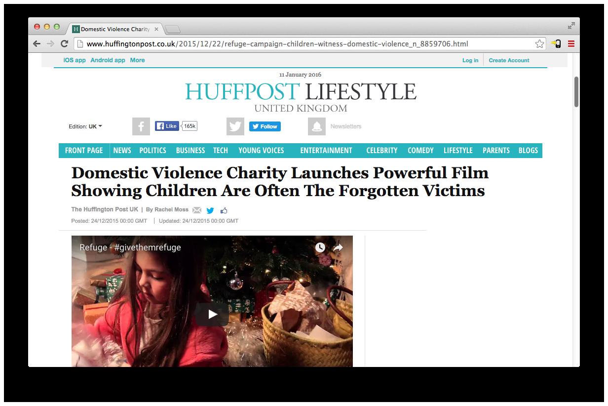 Huffington-Refuge