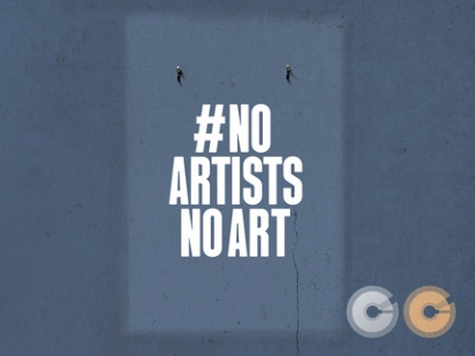 #NoArtistsNoArt